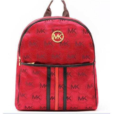 03e8177ef961 Michael Kors Jet Set Signature Large Red Backpack – ray ban sunglasses