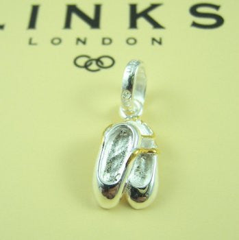 Links of London Ballet Shoes Charm