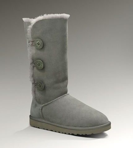 UGG Bailey Button Triplet 1873 Grey