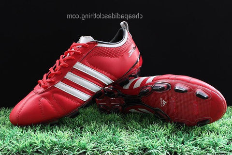 Bath Adidas Adipure Iv Trx Fg Football Boots Red/White