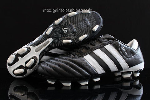 Leeds Adidas Adipure Iii Trx Fg Cleats Black White K-Leather