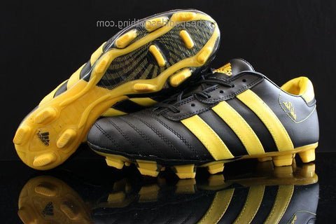 Cardiff Adidas Adipure Iii Trx Fg Cleats Black Yellow