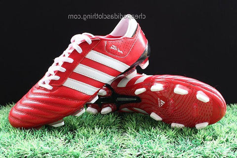 Cambridge Adidas Adipure Iii Trx Fg Boots Red White Black