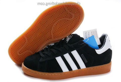 Belfast Mens Adidas Classic Campus 2 Shoes Black White