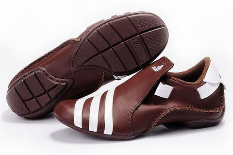 Edinburgh Mens Adidas Leather Shoes Brown