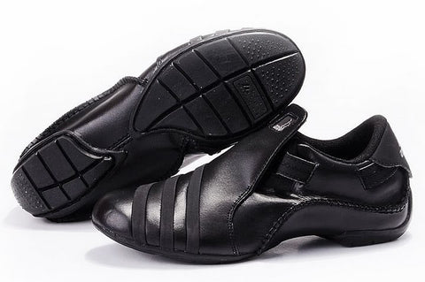 Belfast Mens Adidas Leather Shoes Black