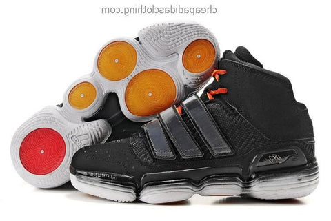 Belfast Adidas Dwight Howard Shoes Black Yellow