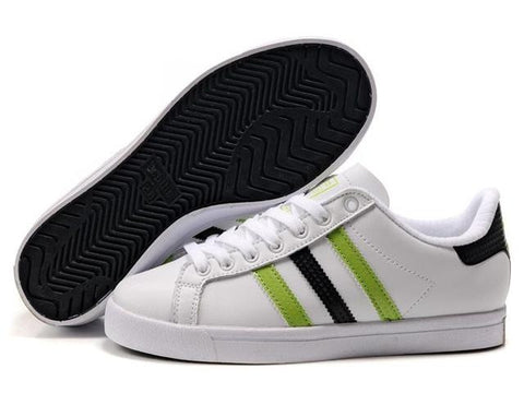 Bath Adidas Court Star White Green Black