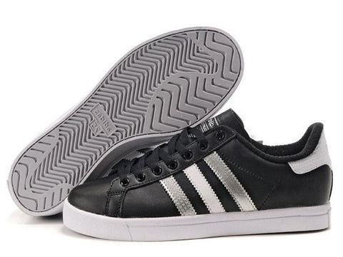 Bath Adidas Court Star Black Silver White