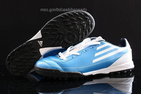 Bath Adidas F50 Adizero Trx Tf Blue White Black