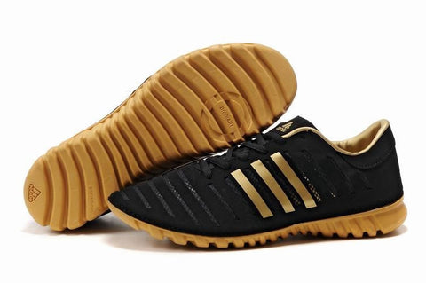Bath Adidas Trainers Black Yellow Shoes