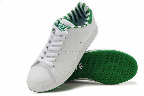 Bath Adidas Stan Smith White Green Stripe