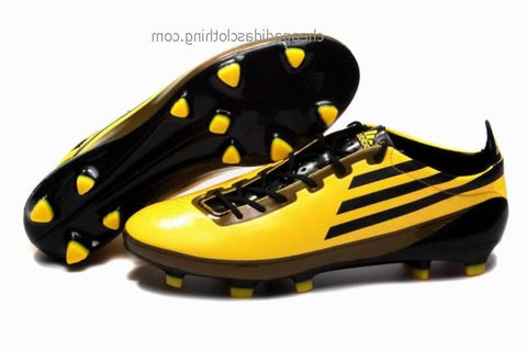 London Adidas F50 Adizero Trx Fg Wc Soccer Shoes Sun/Black/Gold