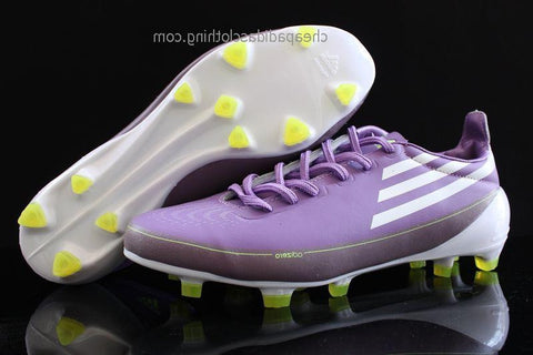 Bath Adidas F50 Adizero Fg Purple White
