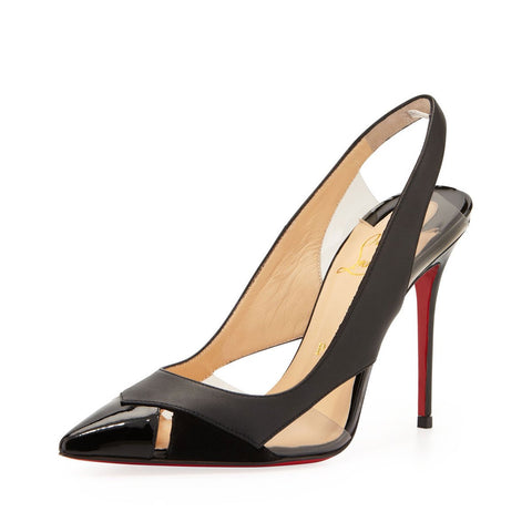 Air Chance 120mm Patent Leather/Pvc Black