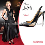 Air Chance 100mm Patent Leather/Pvc Black