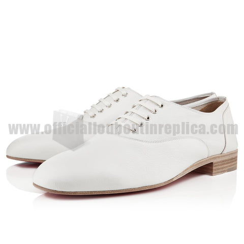Alfred White Leather