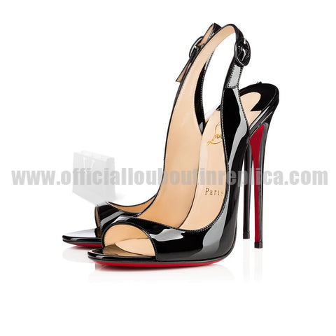 Allenissima 130mm Patent Leather Black