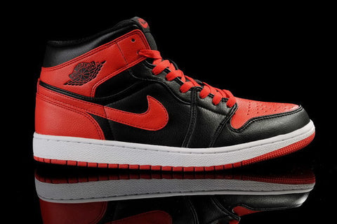 Nike Air Jordan 1 Retro DMP Split Mens Shoes Black / Varsity Red