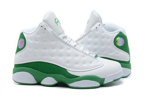 Nike Air Jordan 13 XIII Retro Ray Allen Pe Mens Shoes White / Clover