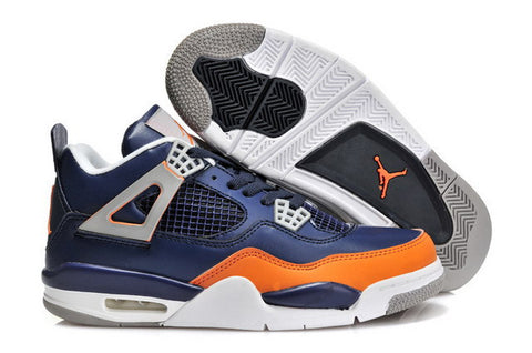 huge discount 72724 19bae Nike Air Jordan 4 Retro Mens Shoes Blue   Orange   White – ray ban  sunglasses