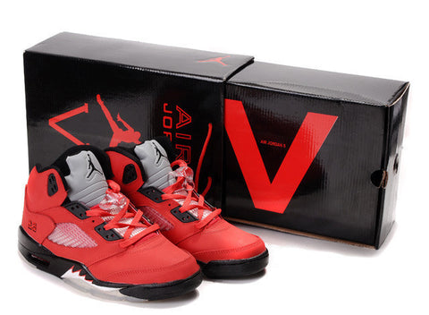 Nike Air Jordan 5 V Retro DMP Split Mens Shoes Varsity Red / Black