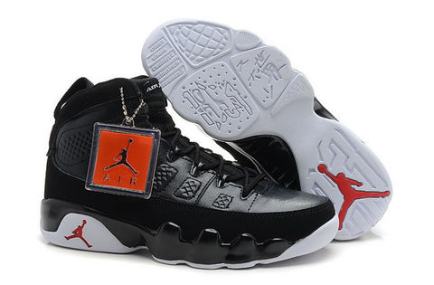 Nike Air Jordan 9 IX Retro Mens Shoes Black / Red / White