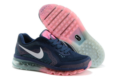 Nike Air Max 2014 First Look Womens Shoes Navy Pink