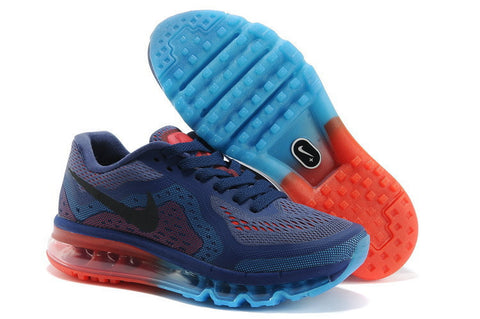 Nike Air Max 2014 First Look Womens Shoes Navy / Blue / Red