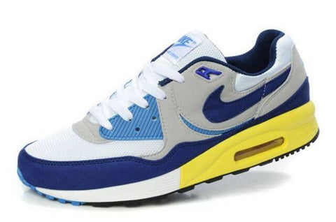 Nike Air Max Light Mens Wolf GreyRoyal White Photo Blue Yellow