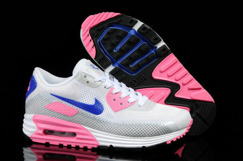 Air Max 90 Lunar C3.0 Womens Shoe White / Grey / Pink / Blue