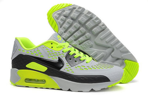 Air Max 90 Ultra BR Womens Shoe Cool Grey / Black / Volt