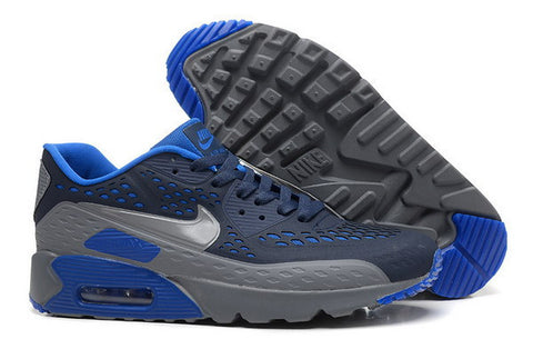 Air Max 90 Ultra BR Womens Shoe Black / Cool Grey / Royal Blue