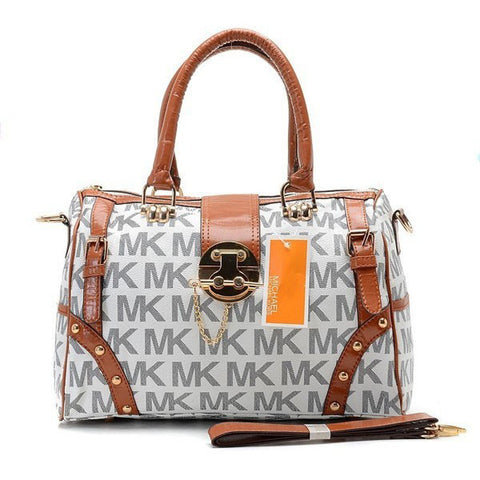 Michael Kors Grayson Large Grey Tote