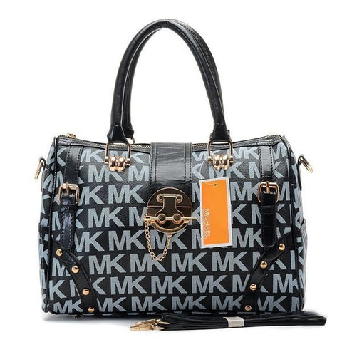 Michael Kors Grayson Large Black Tote