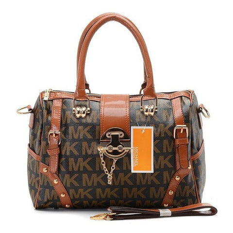 Michael Kors Grayson Large Brown Tote