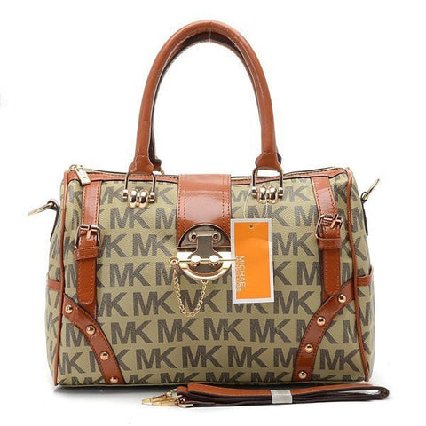 Michael Kors Grayson Large Beige Tote