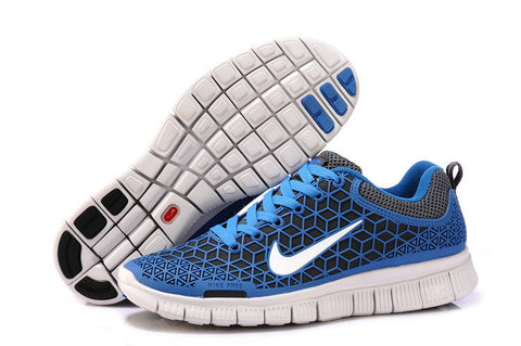 2013 Nike Free 6.0 Blue White Mens Running Shoes