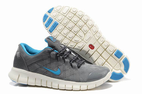 Nike Free 2.0 Gray Blue Powerlines Mens Running Shoes