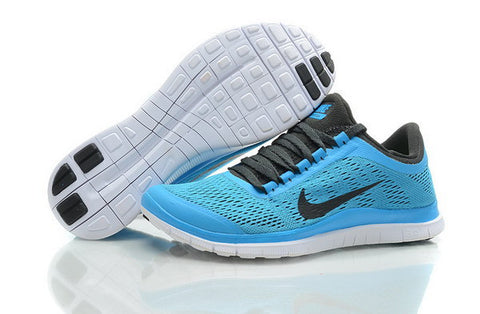 Nike Free Run 3.0 V5 Mens Running Shoes Dark Armory / Black / Blue Hero