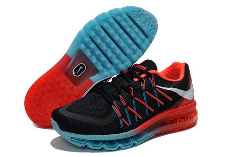 Nike Air Max 2015 Mens Shoes Black / Red / Blue