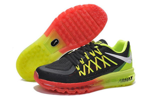 Nike Air Max 2015 Mens Shoes Black / Green / Red