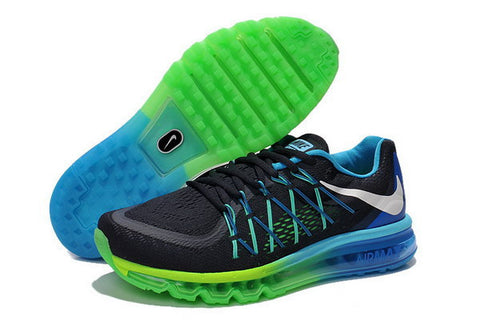 Nike Air Max 2015 Mens Shoes Black / Blue / Green