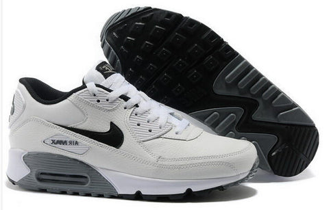 Air Max 90 Essential Leather Womens Shoe White / Black