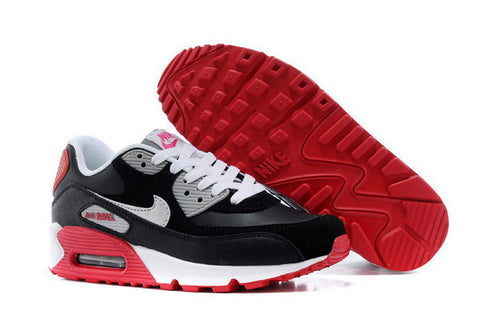 Air Max 90 Womens Shoe Black / Red / White