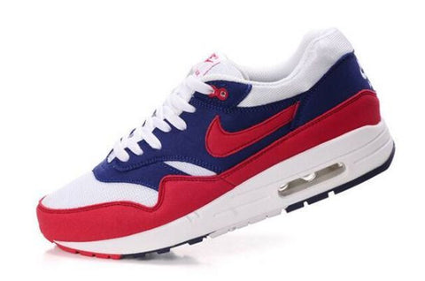 Nike Air Max 1 Mens Midnight Navy/Action Red-Neptune Blue