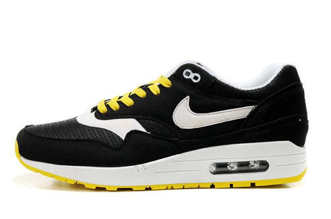 Nike Air Max 1 Mens Omega Black/White-Yellow