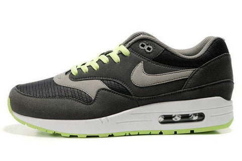 Nike Air Max 1 Mens Omega Anthracite/Charcoal-Liquid Lime