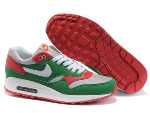 Nike Air Max 1 Mens Lucky Green/White-Red