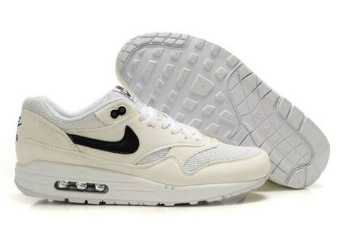 Nike Air Max 1 Mens Beige White/Black